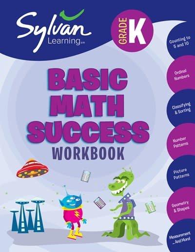 Sylvan Learning Publishing Sylvan: Kindergarten Basic Math Success