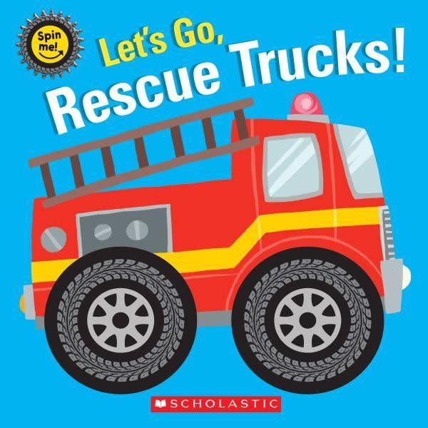 Cartwheel Books Let's Go, Rescue Trucks!