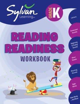 Sylvan Learning Publishing Kindergarten Reading Readiness Workbook