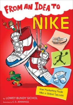 HMH Books for Young Readers From an Idea to Nike
