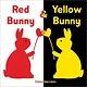 Sourcebooks Jabberwocky Red Bunny & Yellow Bunny