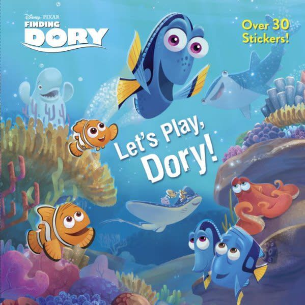 Pixar Finding Dory: Let's Play, Dory!