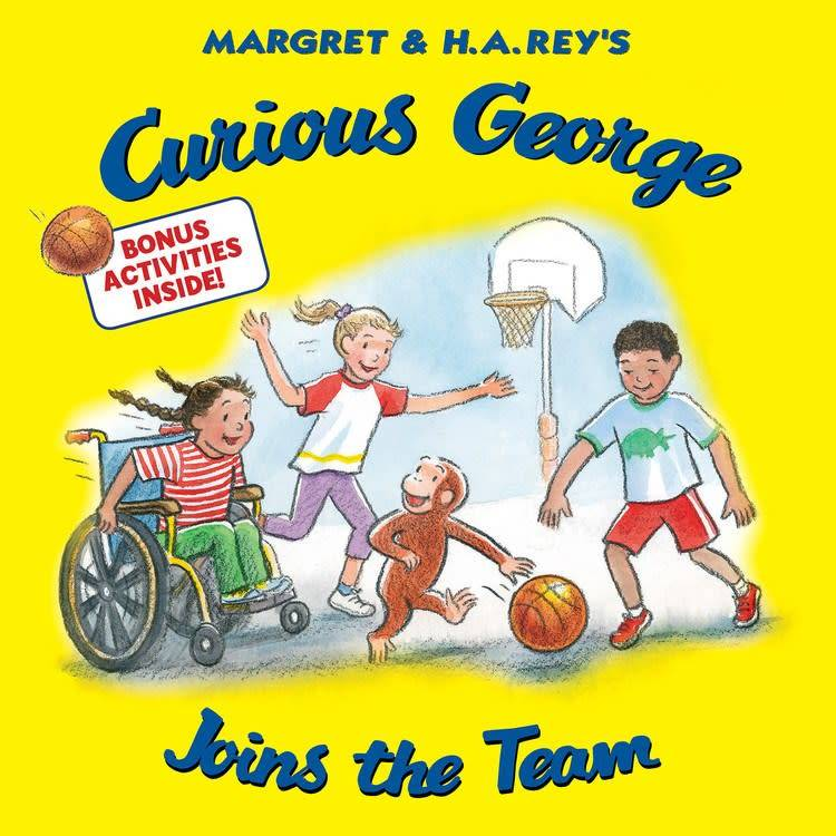 HMH Books for Young Readers Curious George Joins the Team