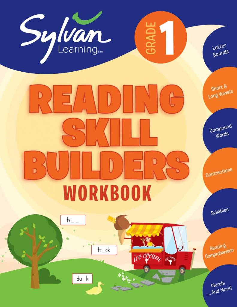 Sylvan Learning Publishing Sylvan: 1st Grade Reading Skill Builders Workbook