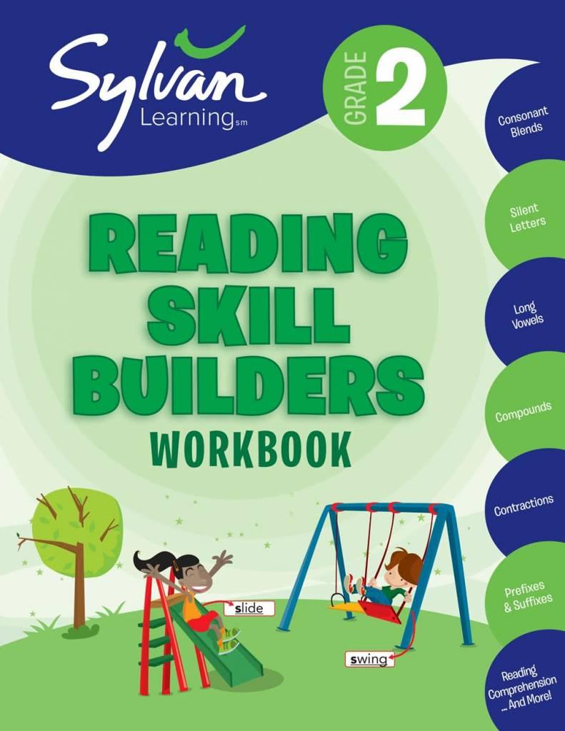 Sylvan Learning Publishing Sylvan: 2nd Grade Reading Skill Builders Workbook