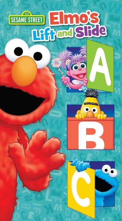 Printers Row Sesame Street: Elmo's Lift and Slide ABC