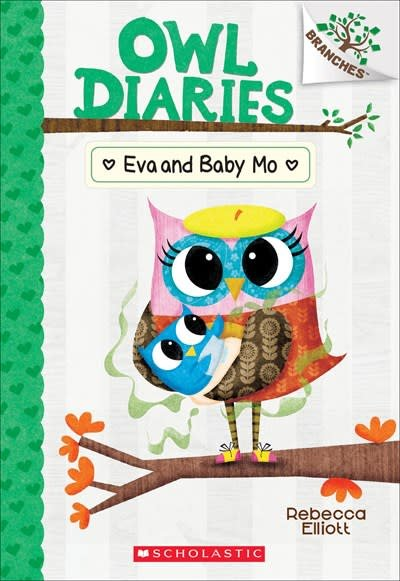 Branches Owl Diaries 10 Eva and Baby Mo