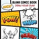 Drawing with Christopher Hart Blank Comic Book