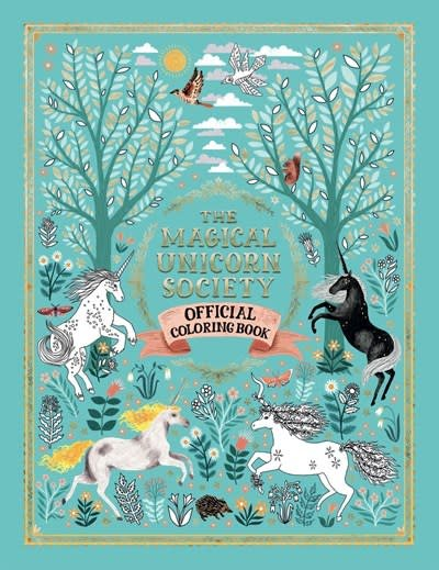 Sterling Children's Books The Magical Unicorn Society Official Coloring Book