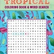 Thunder Bay Press Tropical Coloring Book & Word Search
