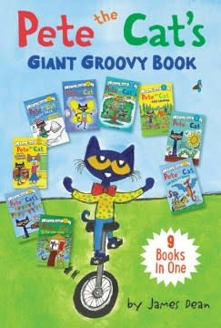 HarperCollins Pete the Cat's Giant Groovy Book (I Can Read!, Lvl 1 & Pre-1)