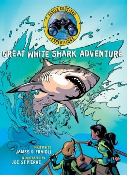 Margaret K. McElderry Books Fabien Cousteau Expeditions: Great White Shark Adventure