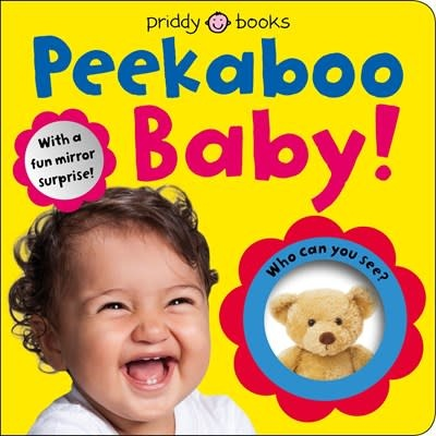 Priddy Books Baby Can Do: Peekaboo Baby