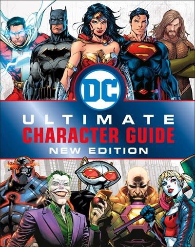 DK Children DC Comics Ultimate Character Guide, New Edition