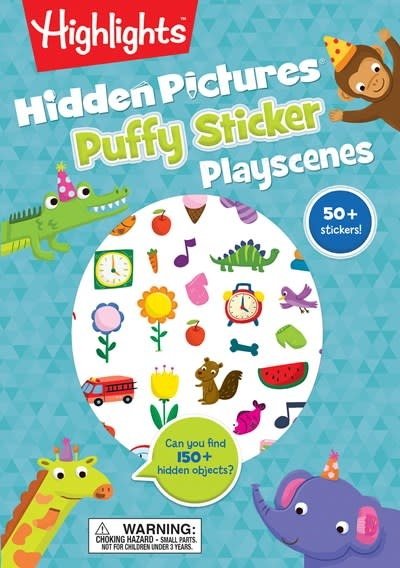 Highlights Press Hidden Pictures® Puffy Sticker Playscenes
