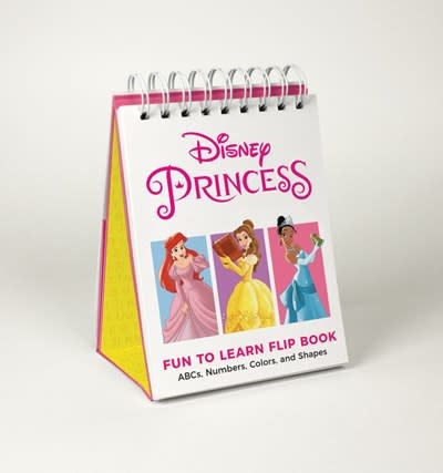 Running Press Kids Disney Princess Fun to Learn Flip Book