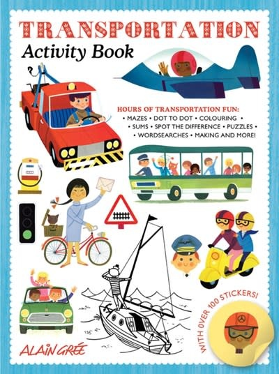 Button Books Transportation Activity Book
