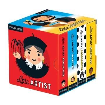 Mudpuppy Little Artist Board Book Boxed Set (4 Books)