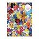 Galison Flowers PVC Multi-Pocket Cover Journal