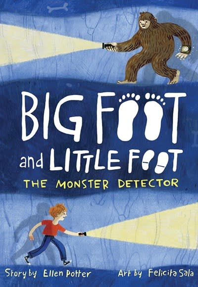 Amulet Paperbacks The Monster Detector (Big Foot and Little Foot #2)