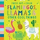 Nosy Crow Press Out and Color: Flamingos, Llamas & Other Cool Things