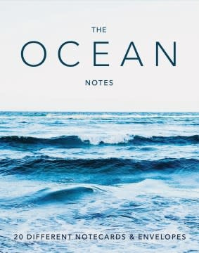 Chronicle Books The Ocean Notes
