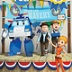 CrackBoom! Books Read with Robocar Poli: Hooray for the Heroes! (Level 2: Qualified Reader)