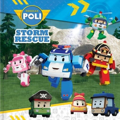CrackBoom! Books Robocar Poli: Storm Rescue
