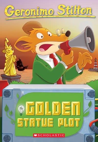 Scholastic Paperbacks The Golden Statue Plot (Geronimo Stilton #55)