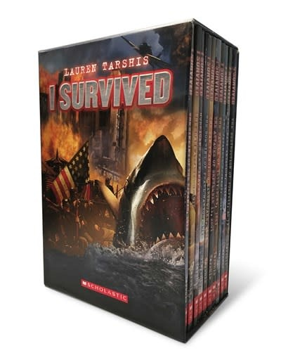 Scholastic Paperbacks I Survived: Ten Thrilling Stories (Boxed Set)