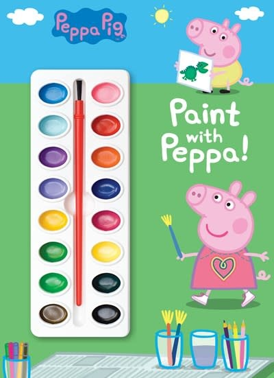 Golden Books Paint with Peppa! (Peppa Pig)