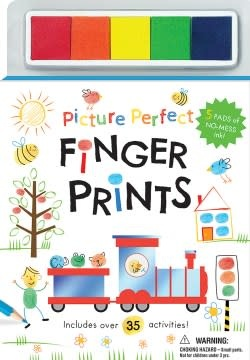Silver Dolphin Books Picture Perfect Finger Prints