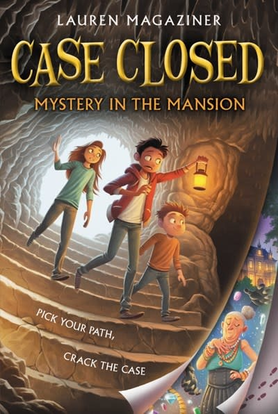 Katherine Tegen Books Case Closed 01 Mystery in the Mansion