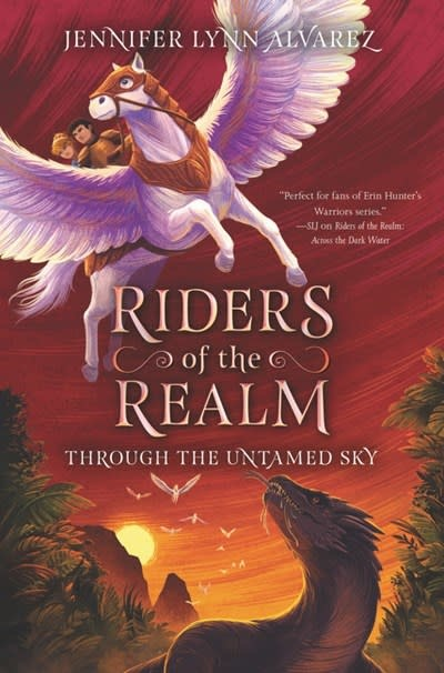 HarperCollins Riders of the Realm #2: Through the Untamed Sky