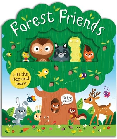 Priddy Books Forest Friends: A lift-and-learn book