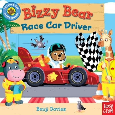 Nosy Crow Bizzy Bear: Race Car Driver