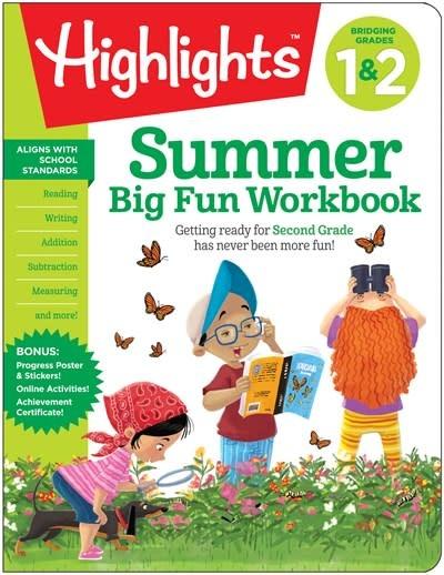 Highlights Learning Highlights Summer Big Fun Workbook: Bridging Grades 1 & 2