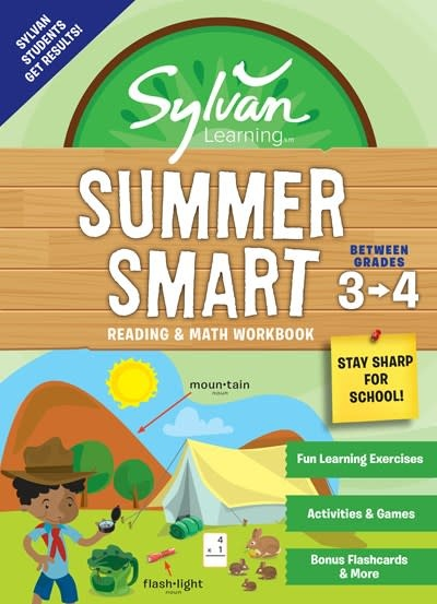 Sylvan Learning Publishing Sylvan Summer Smart Workbook: Between Grades 3 & 4