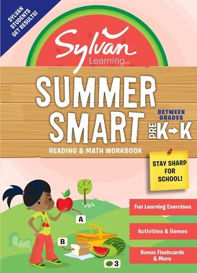 Sylvan Learning Publishing Sylvan Summer Smart Workbook: Between Grades Pre-K & Kindergarten