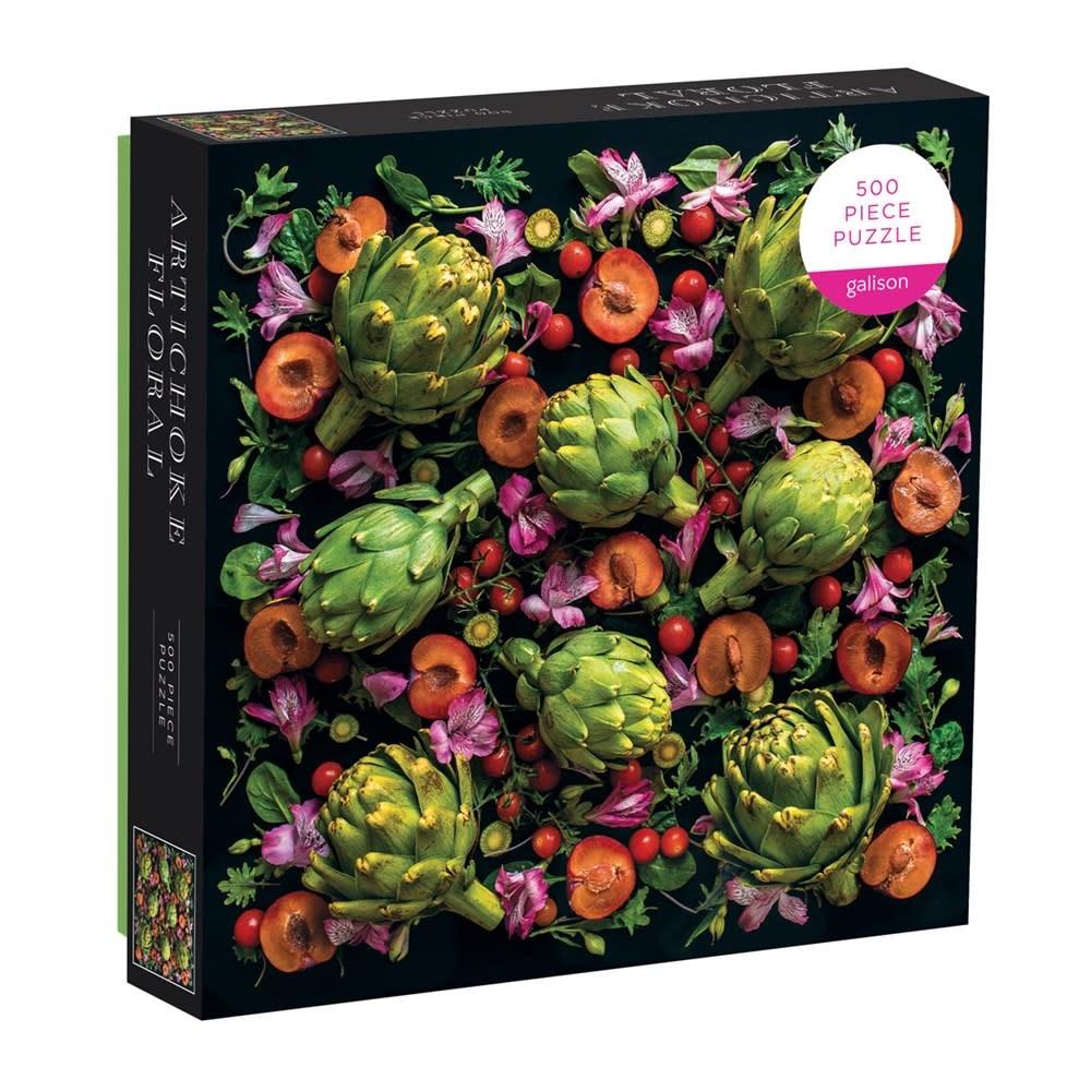 Galison Artichoke Floral (500 Piece Puzzle)