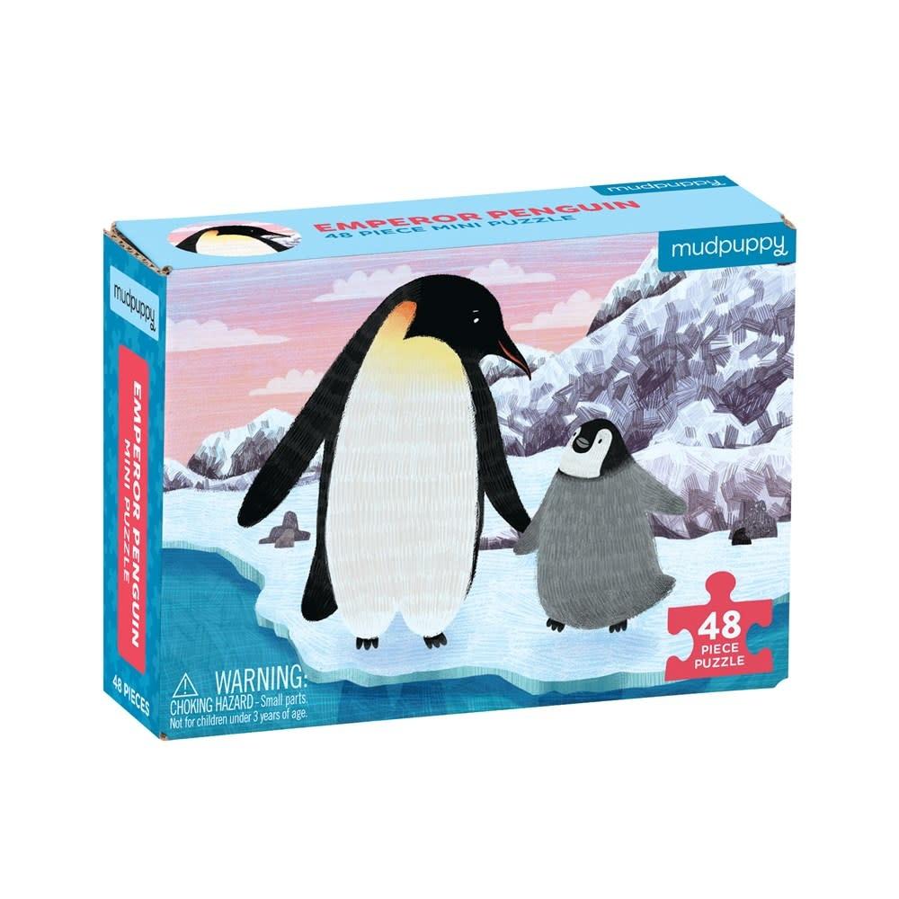 Mudpuppy Emperor Penguin (48-Piece Mini Puzzle)
