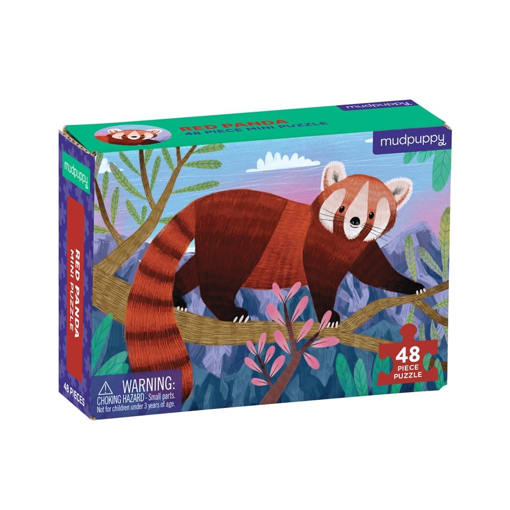 Mudpuppy Red Panda (48-Piece Mini Puzzle)