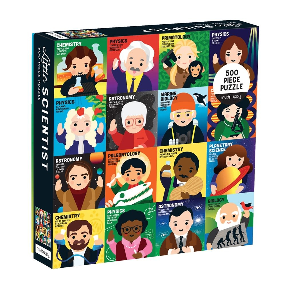 Mudpuppy Little Scientist (500 Piece Family Puzzle)