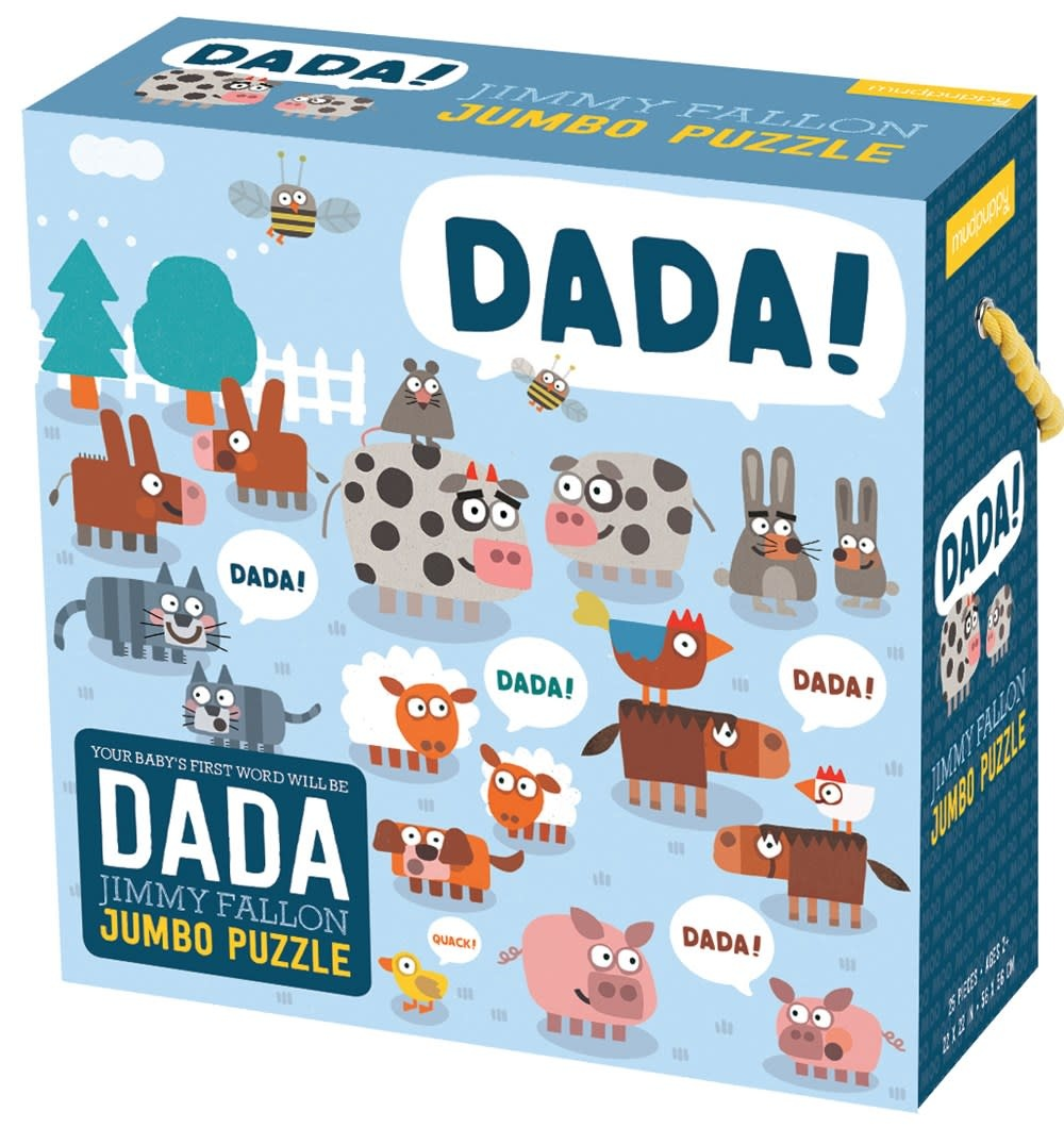 Jimmy Fallon: Your Baby's First Word Will Be Dada (25-Piece Jumbo Puzzle)