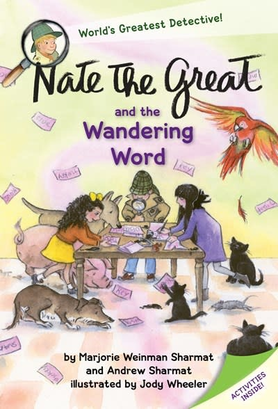 Yearling Nate the Great and the Wandering Word