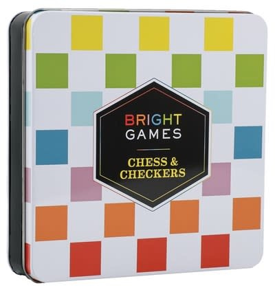 Chronicle Books Bright Games Chess & Checkers