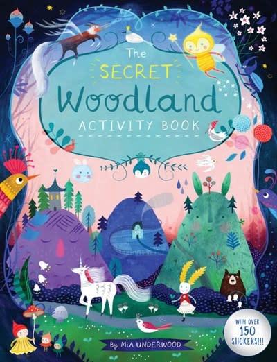 Button Books The Secret Woodland Activity Book
