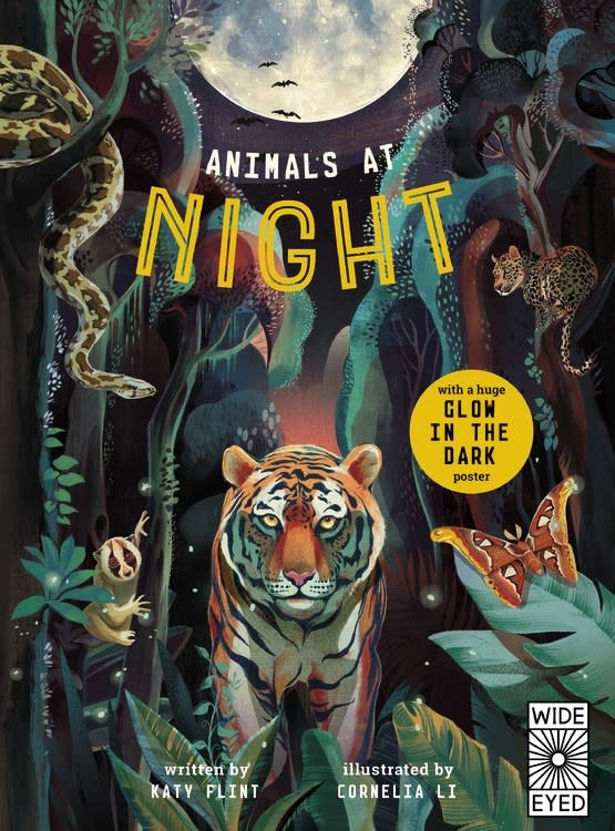 Wide Eyed Editions Glow in the Dark: Animals at Night