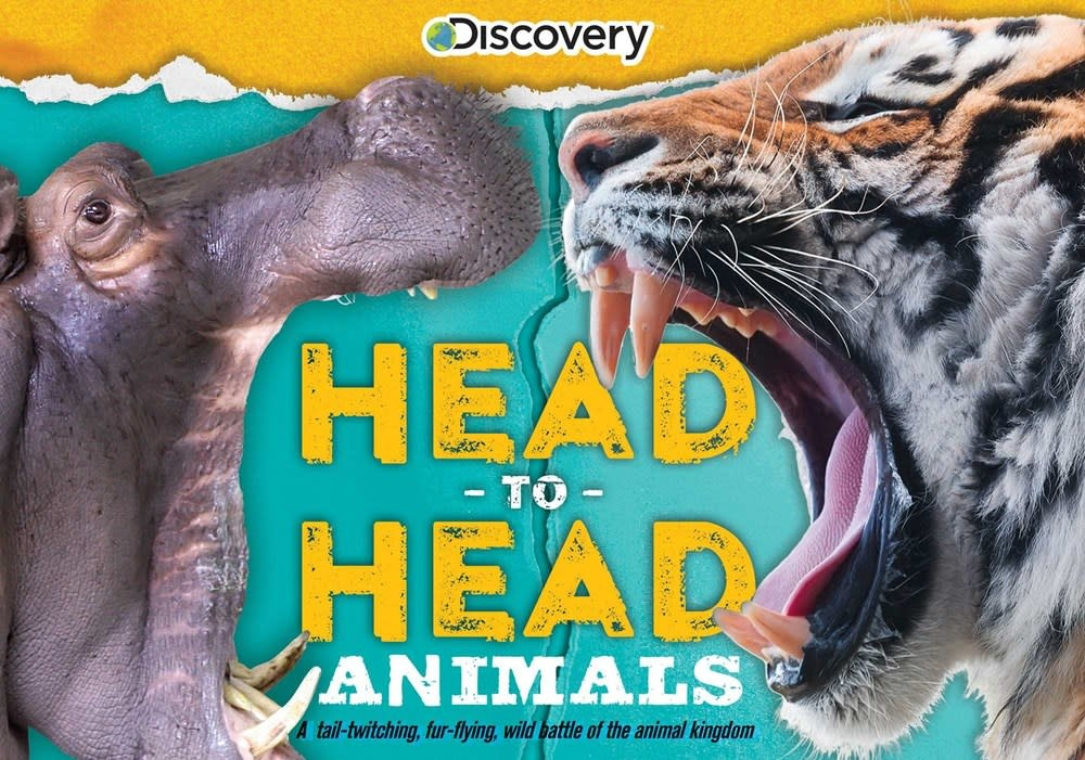 Silver Dolphin Books Discovery: Head-to-Head: Animals