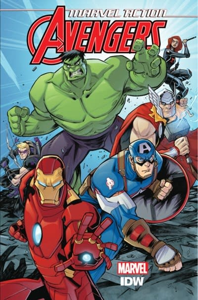 IDW Publishing Marvel Action: Avengers: The New Danger (Book One)